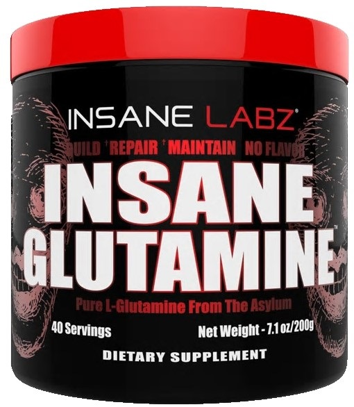 Insane Glutamine (200 гр) (40 порц) (Insane Labz)