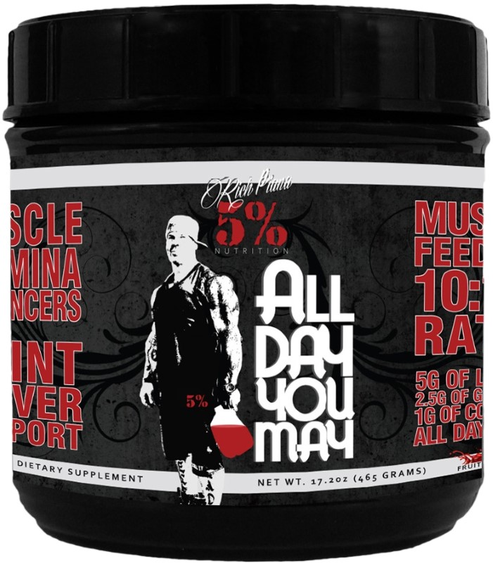 Заказать All Day You May (465 гр) (30 порц) (Rich Piana 5% Nutrition)   - цена  руб.