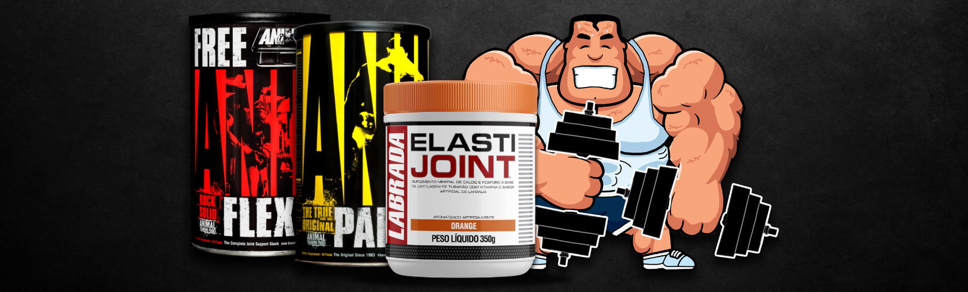 Elasti Joint, ANIMAL PAK
