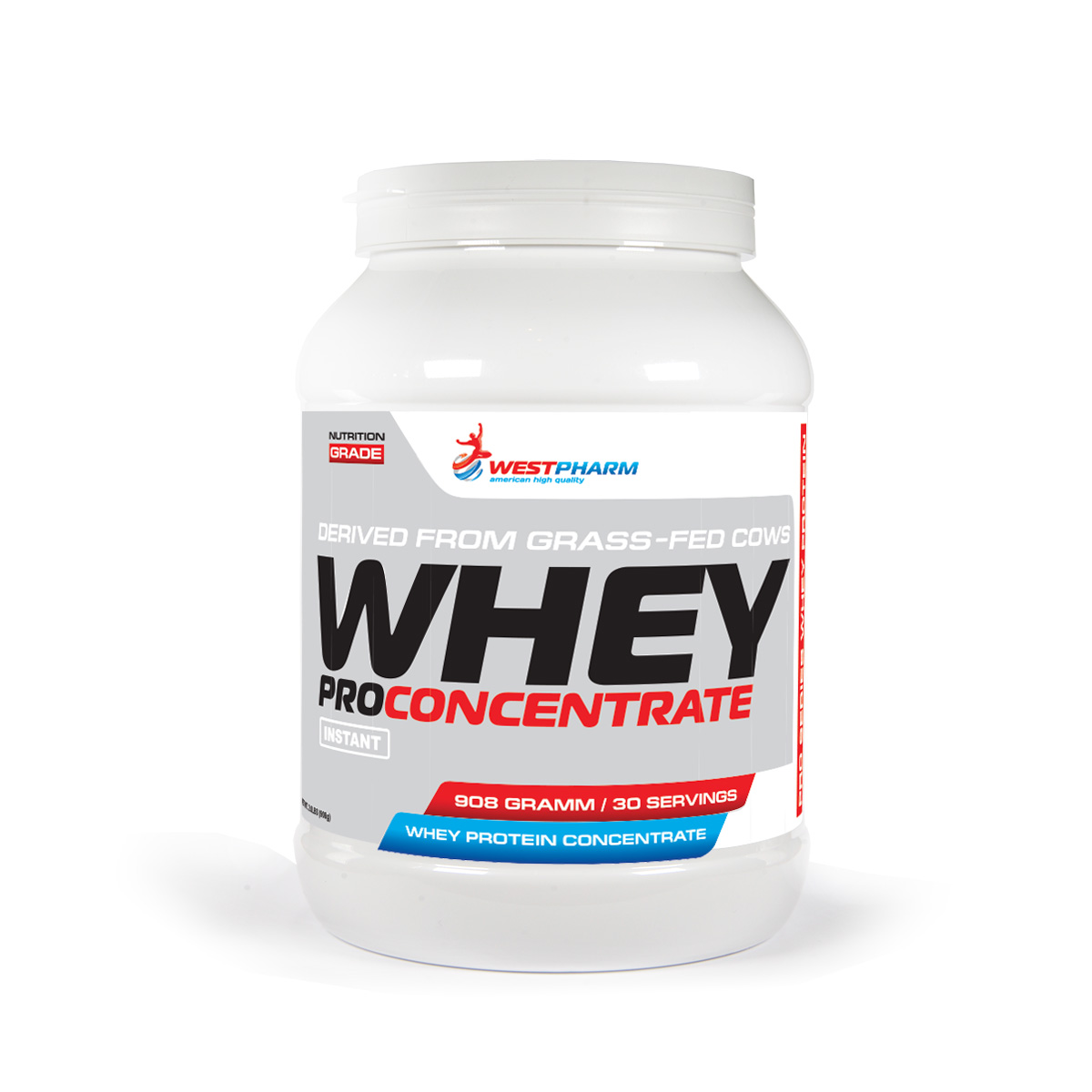 Whey Pro Concentrate (908 гр) (30 порц) (WestPharm)