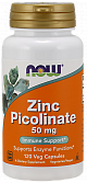 Zink Picolinate (120 капс) (NOW)