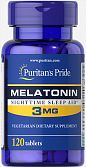 Melatonin (3 мг) (120 табл) (Puritan's Pride)